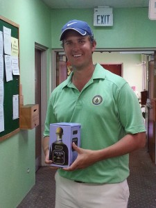 Will Haddrell - Winner of the Men's Low Gross and Men's Closest to the Pin.